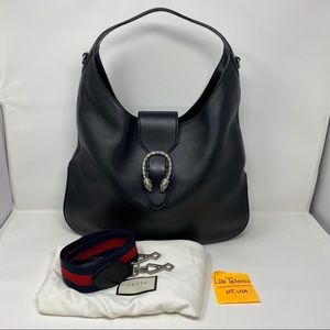 Gucci 447098 Dionysus Large Leather Hobo
